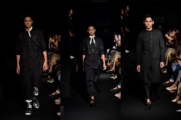 Fashion, Featured, Lakme Fashion Week, Lakmé Fashion Week 2018, Lakme Fashion Week Winter/Festive 2018, Online Exclusive, Style, Winter/Festive, Antar Agni, Ujjawal Dubey