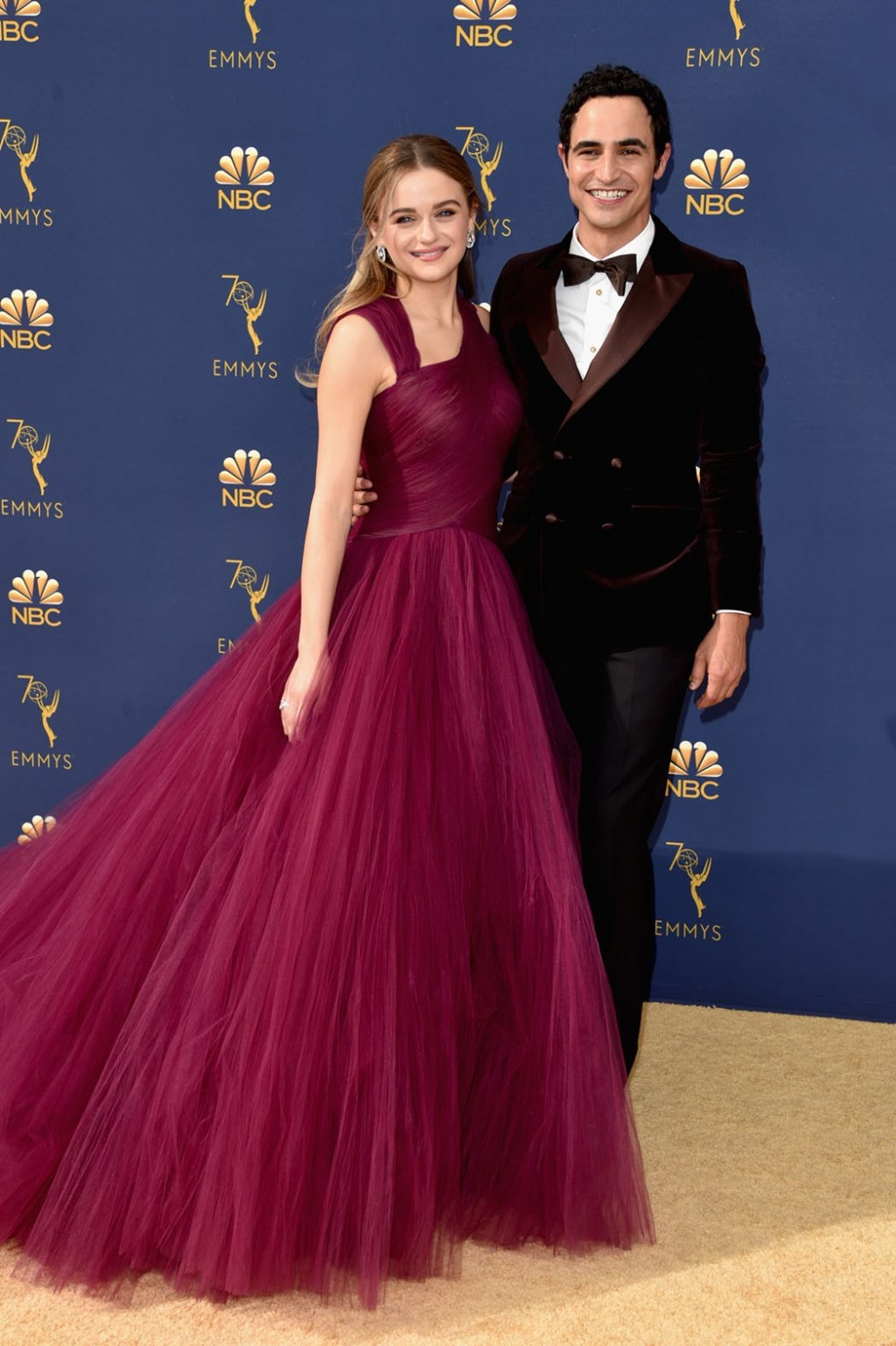 Joey King in Zac Posen with Zac Posen, 70th Annual Primetime Emmy Awards, Betty White, Emmys 2018, Fashion, Featured, Glenn Weiss, Hannah Gadsby, highlights, Jav Svendsen, Online Exclusive, Style, The Marvellous Mrs. Maisel, top moments, We solved it, Diversity