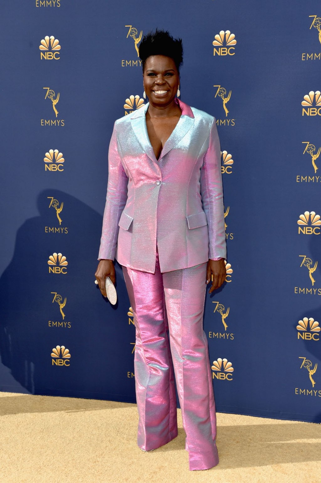 Leslie Jones in Christian Siriano, 70th Annual Primetime Emmy Awards, Betty White, Emmys 2018, Fashion, Featured, Glenn Weiss, Hannah Gadsby, highlights, Jav Svendsen, Online Exclusive, Style, The Marvellous Mrs. Maisel, top moments, We solved it, Diversity