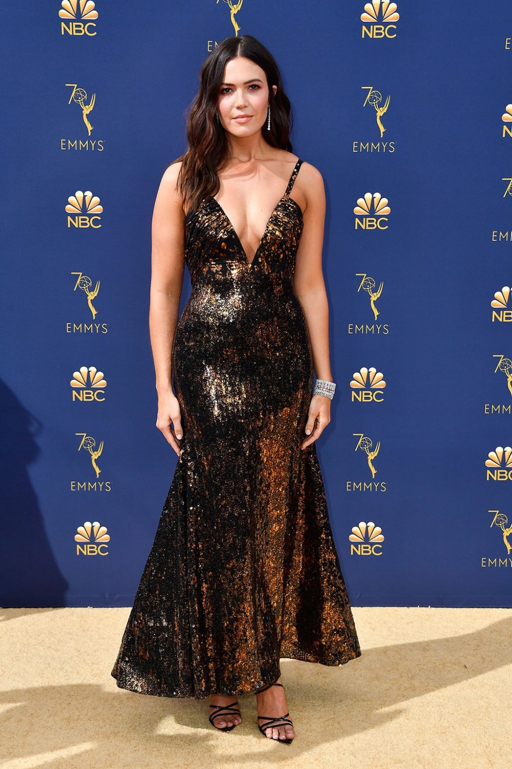 Mandy Moore in Rodarte, 70th Annual Primetime Emmy Awards, Betty White, Emmys 2018, Fashion, Featured, Glenn Weiss, Hannah Gadsby, highlights, Jav Svendsen, Online Exclusive, Style, The Marvellous Mrs. Maisel, top moments, We solved it, Diversity