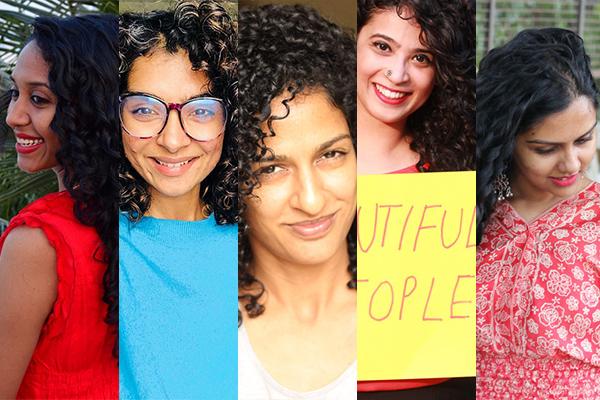 Anjana Muralidharan, Asha Barrak, Beauty, Curlacious, Curls, Curls And Beauty Diary, Curly Hair, Divya Madaswamy, Elizabeth Alex, Going Natural, Hair, Honest Liz, Natural Hair, Pallavi Juneja, Right Ringlets, The Curious Jalebi