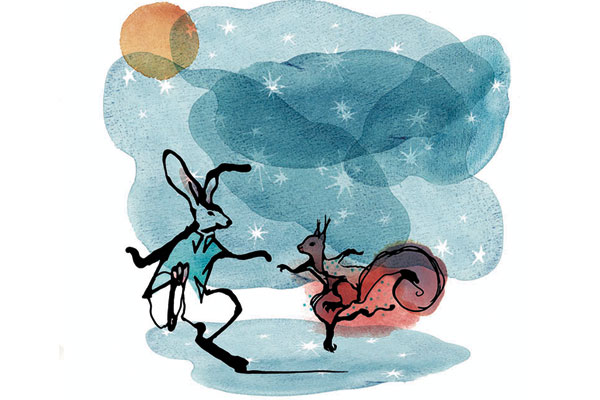 Siddharth Dhanvant Shanghvi, The Rabbit & The Squirrel — A Love Story About Friendship, Award-winning author