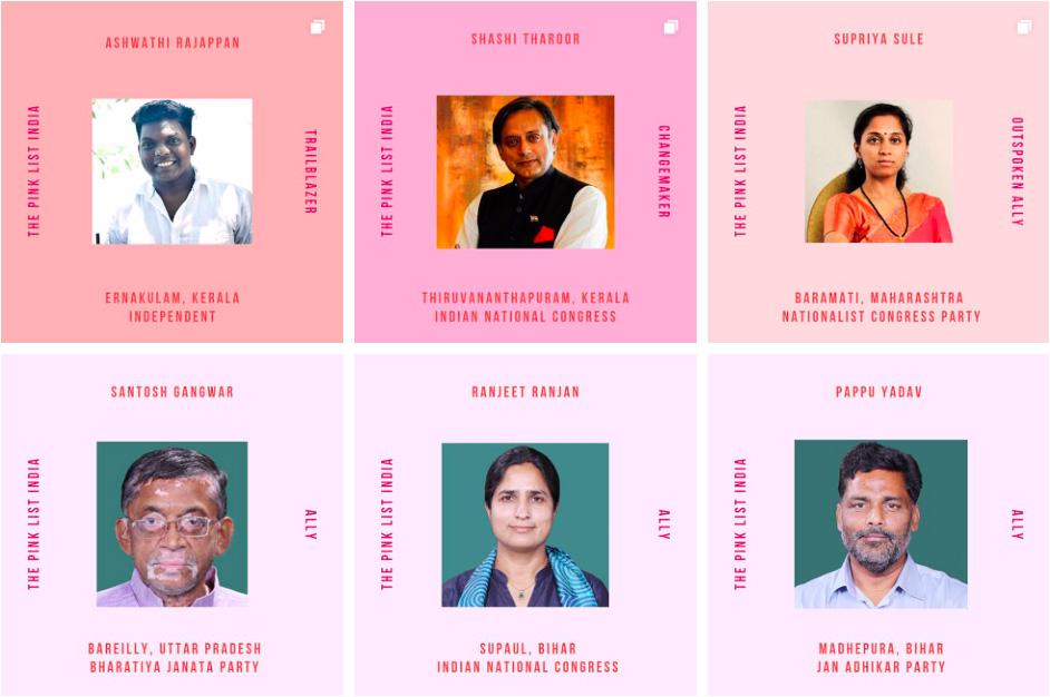 Anish Gawande, Devina Buckshee, Indian Elections 2019, LGBTQIA, Lok Sabha, Lok Sabha Elections, Pink List India, Politics, Queer, Queer Politics, Smriti Deora, The Pink List India, Vote