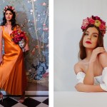 East Darjeeling, Elissa Patel Waverly, Floral Headpieces, Silk Headpieces