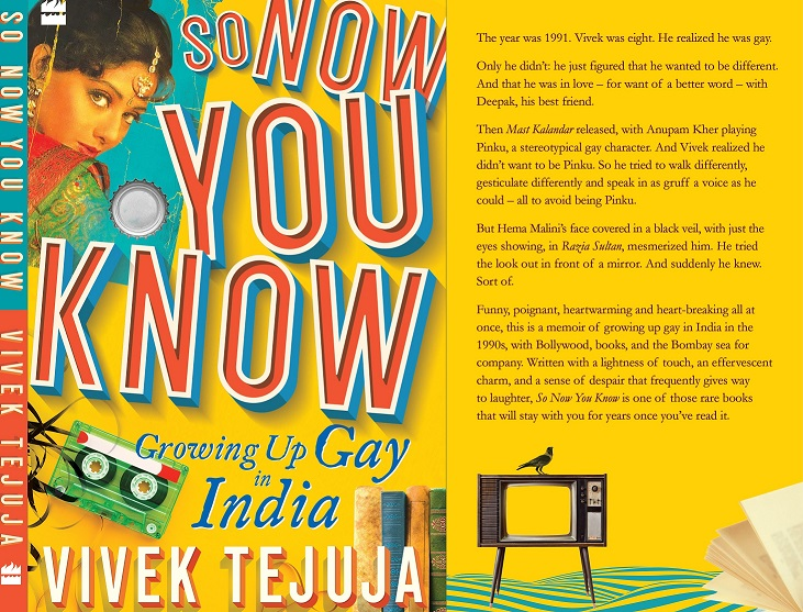 Featured, gay men, homosexuality, memoir, Online Exclusive, Section 377, Section 377 decriminalised, So Now You Know, Vivek Tejuja