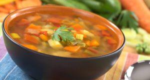 depurarsi, minestrone di verdure,