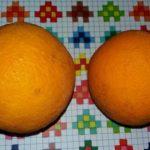 arance, pollo alle mandorle,