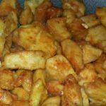 pollo fritto, pollo alle mandorle,