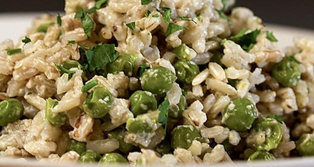 insalata, riso integrale, insalata di riso,