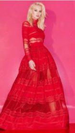 moda, fashion, rosso, sfilate, passerelle, zuhair murat
