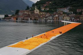 Christo, The Floating Piers (2016)
