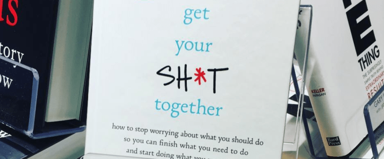 Get Your Sh*t Together with this Anti-Self Help Book