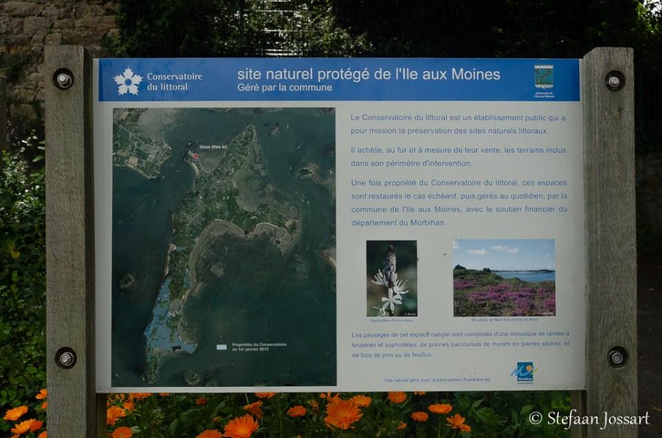 Natuurgebied Île aux Moines.
