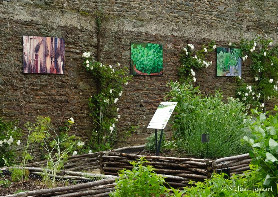 Jardin médiévale in Josselin