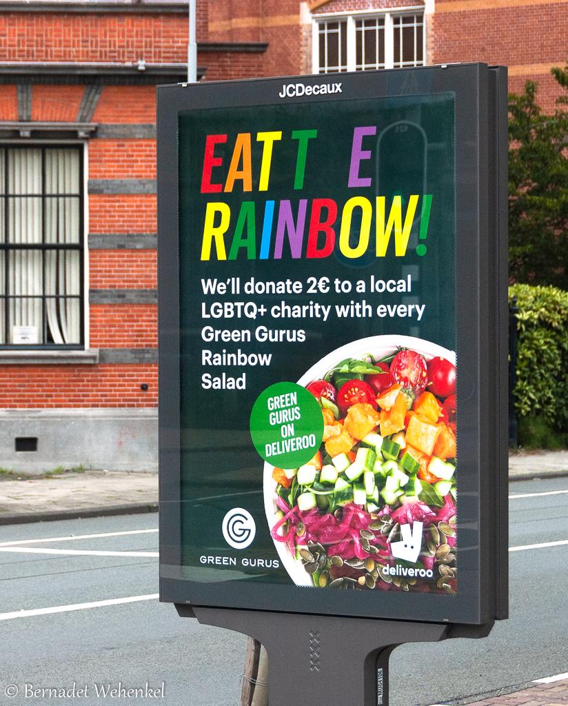 Green Gurus 'Eat the rainbow'-actie