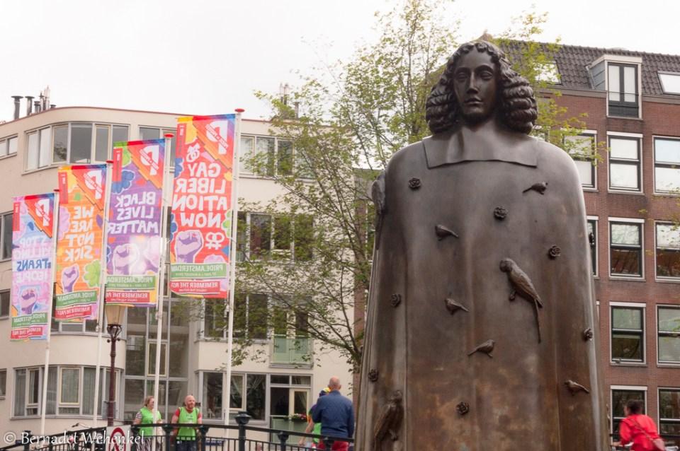 Benedictus de Spinoza, een Amsterdams filosoof