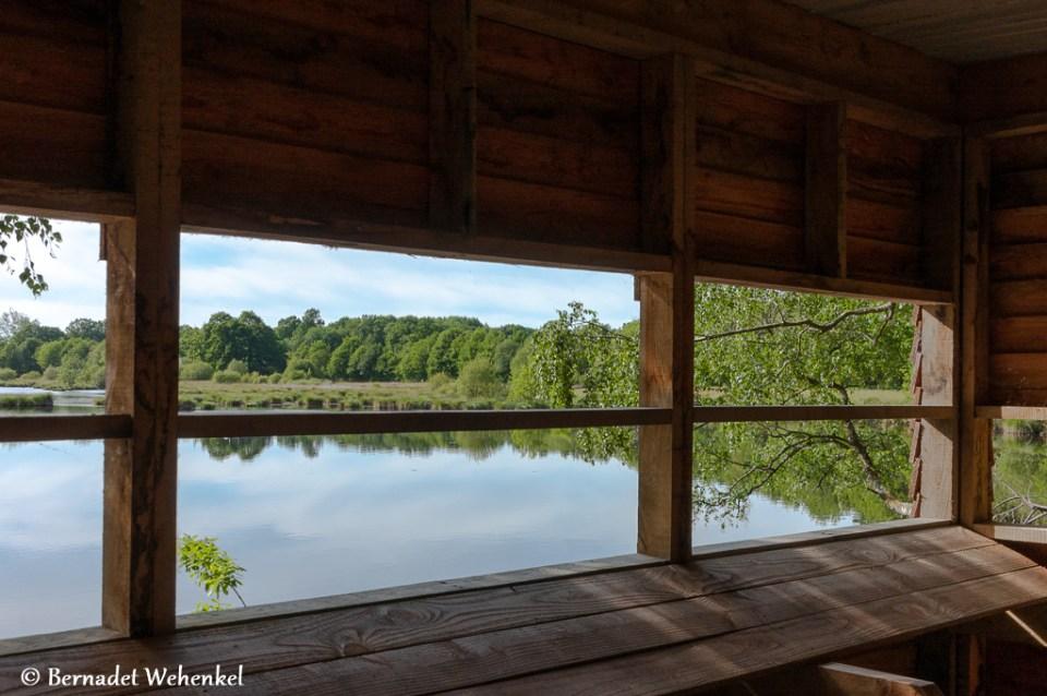 Vogelkijkhut Tourbière de Landemarais.