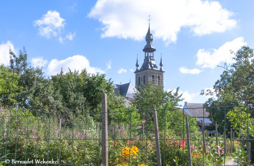 Toren van de Basiliek van Kortenbos.