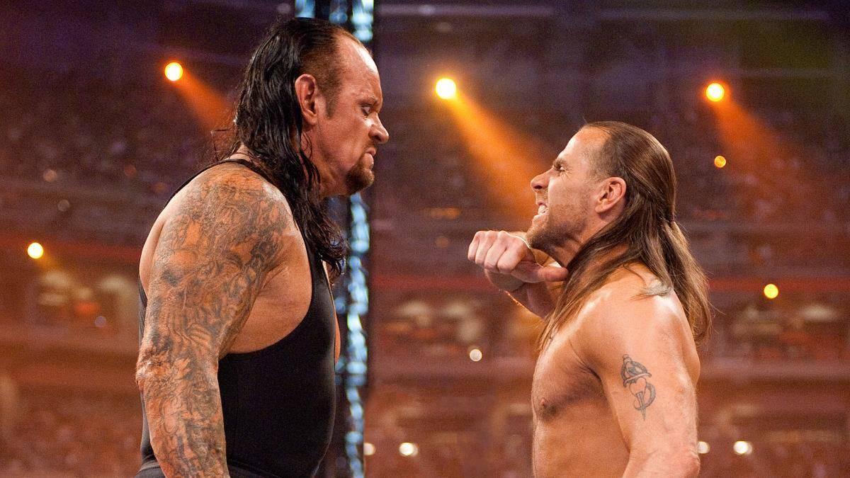 The Undertaker vs Shawn Michaels