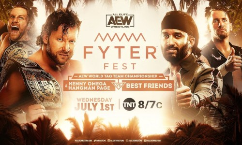 Repeticion AEW Fyter Fest