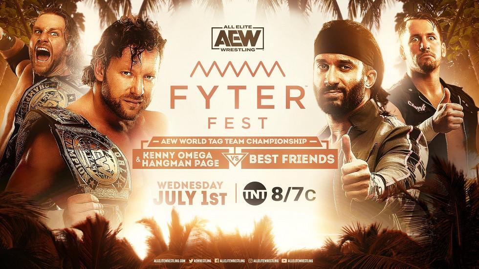 Resultados AEW Fyter fest
