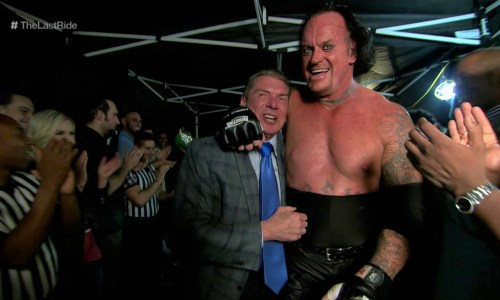 Vince McMahon y The Undertaker