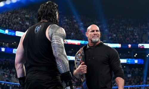 Goldberg vs Roman Reigns