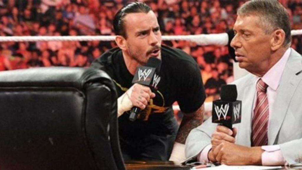 CM Punk y Vince MC Mahon