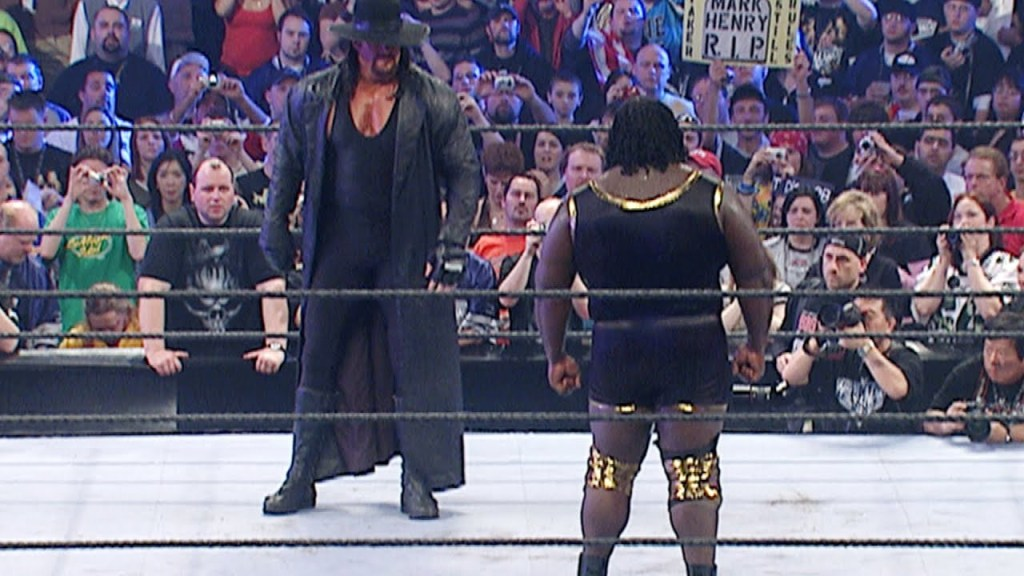The Undertaker vs Mark Henry