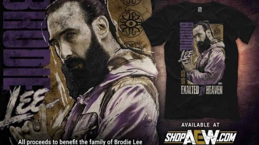 Camiseta tributo Brodie Lee