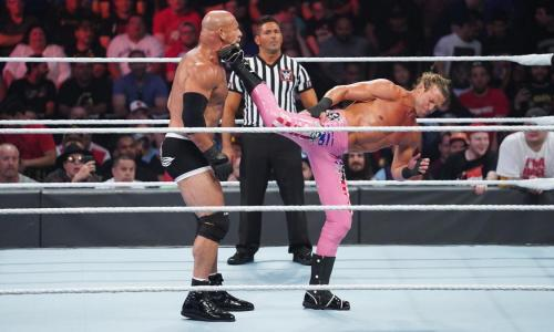 Goldberg vs Dolph Ziggler