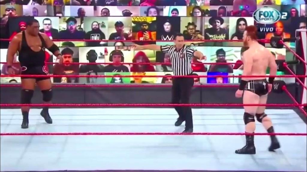 Sheamus vs Keith Lee