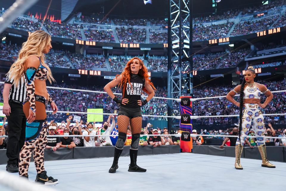 Becky Lynch vs Bianca Belair