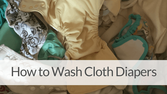 How to Wash Cloth Diapers with Tide