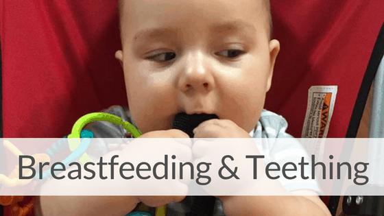 Tips for Breastfeeding a Teething Baby