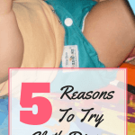 """<p style=""""text-align: center;""""><strong><span style=""""color: #ff5e78;"""">Why Cloth Diaper? My Top 5 Reasons</span></strong></p>"""