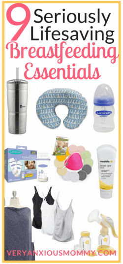 9 Seriously Lifesaving Breastfeeding Essentials