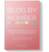 Blog By Number ebook