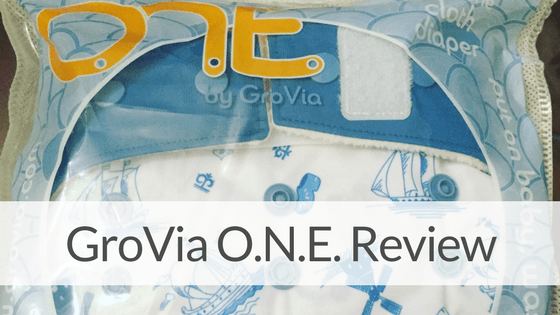 GroVia O.N.E. Cloth Diaper Review & GIVEAWAY!(CLOSED)