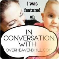 in conversation with - mommy blogger interview