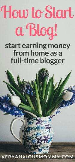How to Start a Blog! Start Earning Money from Home as a Full-time Blogger