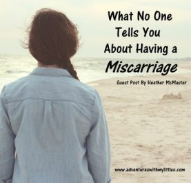 What No One Tells You About Having a Miscarriage veryanxious mommy