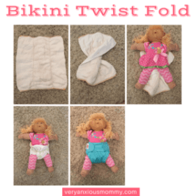 5 Quick And Easy Ways To Fold A Prefold Cloth Diaper Very Anxious