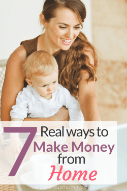 7 Real Ways Stay at Home Moms Can Supplement their Household Income | Very Anxious Mommy | How to earn money as a stay at home mom online | Work from home mom