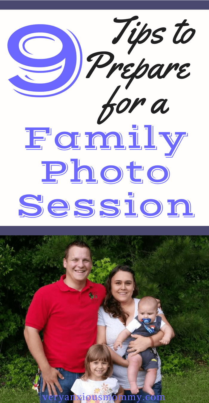 9 tips to prepare your family for a photo session. - Very Anxious Mommy - how to get your kids ready for a photo shoot. Taking pictures of your kids. professional photography. matching outfits. tips for getting pictures taken of your kids.