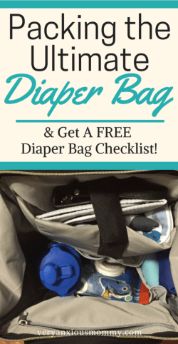 Packing a diaper bag is serious business! Here's a complete list of all the things you need! A great check list for moms-to-be! Diaper Bag for you and your baby. cloth diaper bag. Great tips on what you actually need. A complete list of diaper bag essentials. What to Pack in a Diaper Bag: How to Pack One Like a Pro