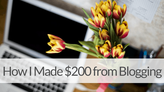How I Made Over $200 Last Month From My Blog! – April 2017 Income Report