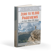 Zero to 10,000 Pageviews in Less Than 30 Days