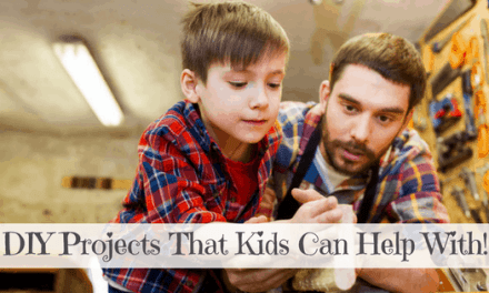 6 DIY Home Improvement Projects Kids Can Help With