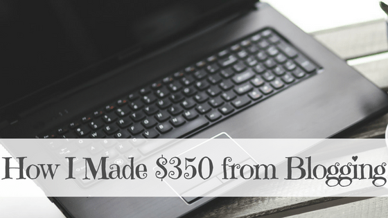 How I Earned $359.35 From Blogging – June 2017 Income Report